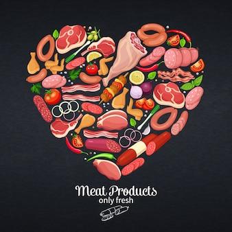 Prodotti gastronomici a base di carne