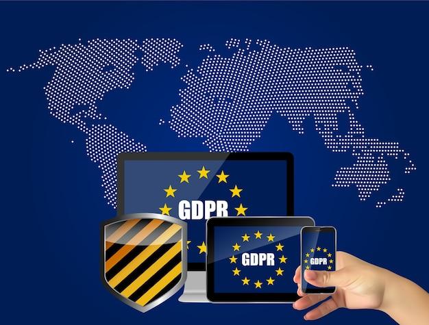 Gdpr - background del regolamento generale sulla protezione dei dati