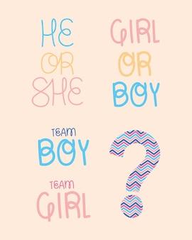 Frasi rivelatrici di genere
