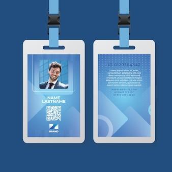 Carta d'identità aziendale generale