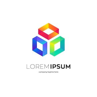 Logo del cubo generico