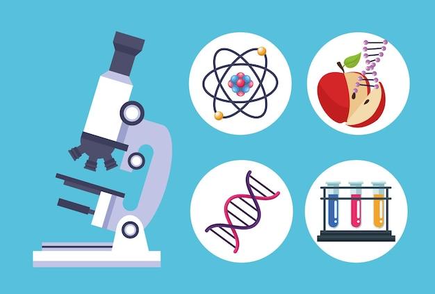 Set di articoli per test genetici