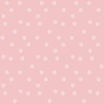 Lo sfondo di colore delicatamente pastello del bambino punteggia il modello di vettore senza soluzione di continuità