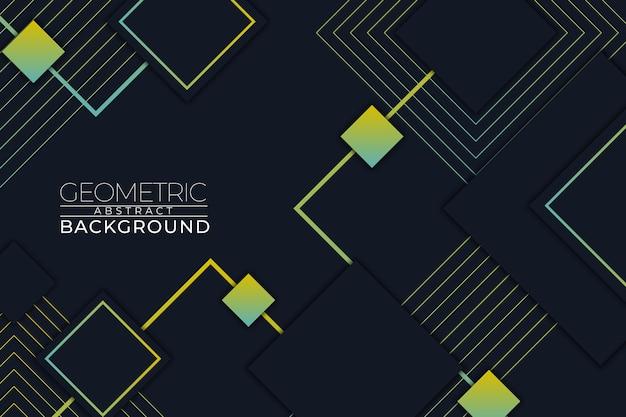 Geometrico astratto sfondo quadrato stile rgb