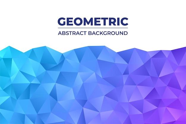 Sfondo astratto geometrico con poligono triangolare