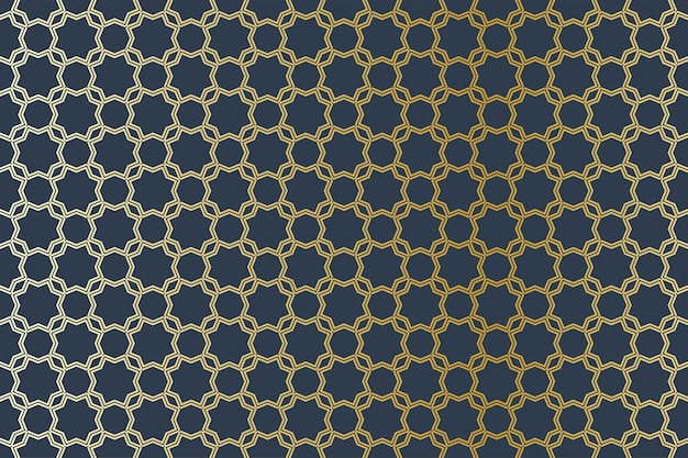 Arabo geometrico seamless pattern illustrazione