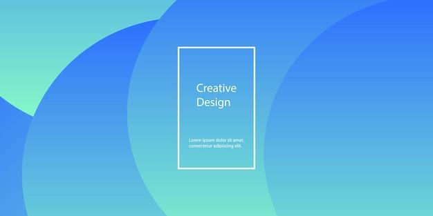 Sfondo geometrico. design minimale astratto della copertina. carta da parati colorata creativa. poster sfumato alla moda. illustrazione vettoriale.