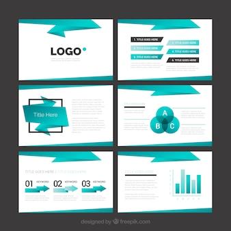 Presentazione aziendale geometric