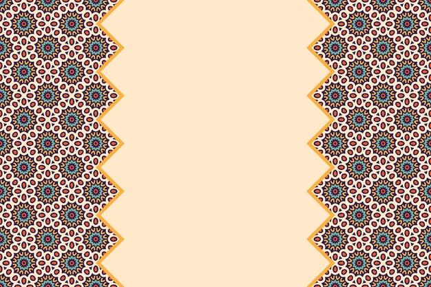 Modello lineare senza cuciture colorato geometrico