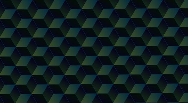 Pattern di sfondo cubo geometrico