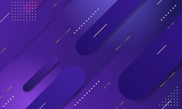 Sfondo sfumato geometrico. composizione di forme dinamiche