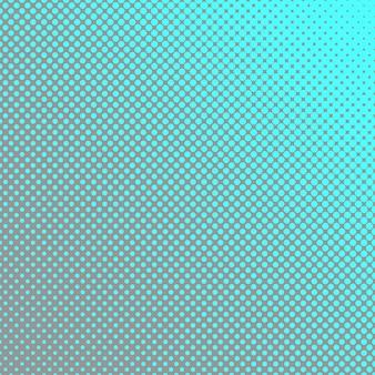 Geometrico reticolo mezzitoni sfondo pattern - grafica vettoriale con cerchi in diverse dimensioni