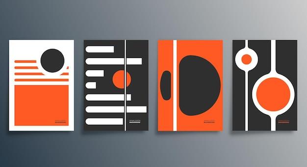 Illustrazione di design minimale geometrico.