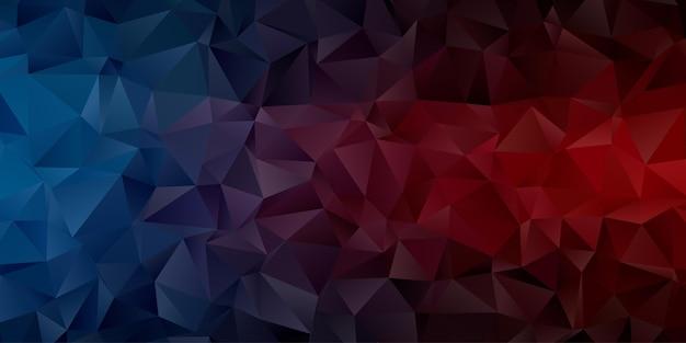 Carta da parati astratta del fondo del poligono geometrico