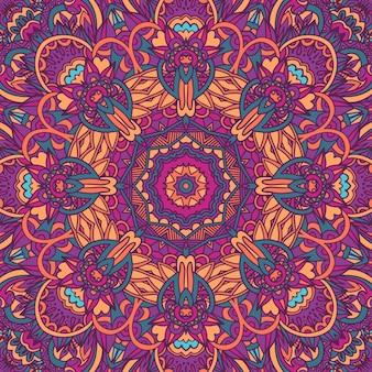 Motivo psichedelico geometrico