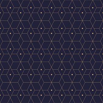 Carta da parati senza cuciture geometrica del fondo del modello
