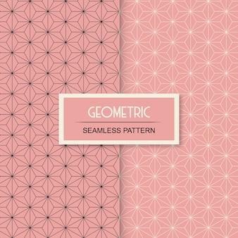 Motivo geometrico senza soluzione di continuità