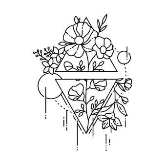 Tatuaggio geometrico
