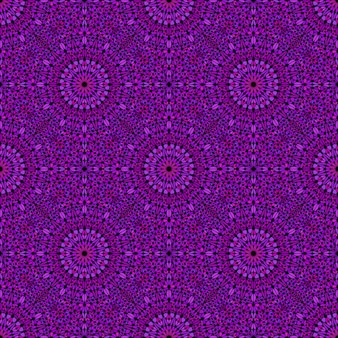 Geometrical bohemian abstract pattern floreale