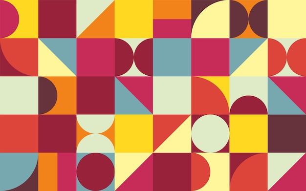 Sfondo minimalista di geometria