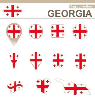 Georgia flag collection, 12 versioni