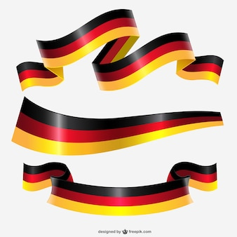 Germany flag ribbon