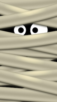 Immagine di occhi fantasma