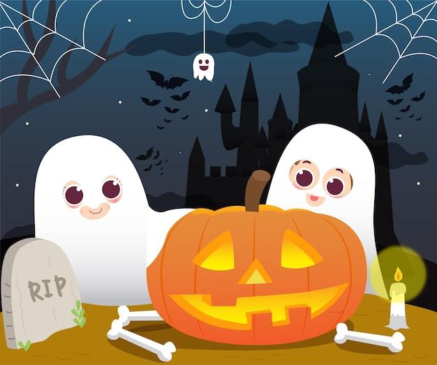 Giorno di halloween fantasma
