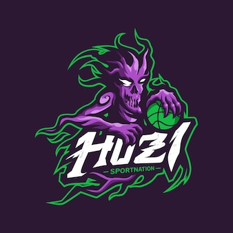 Logo mascotte fantasma