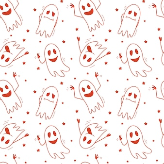 Fantasmi modello halloween umore