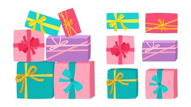 Confezione regalo pila regalo sorpresa festa di compleanno regalo