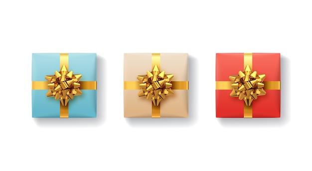 Set di scatole regalo