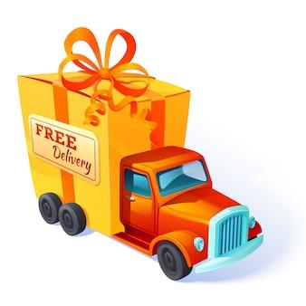 Composizione confezione regalo Vettore Premium