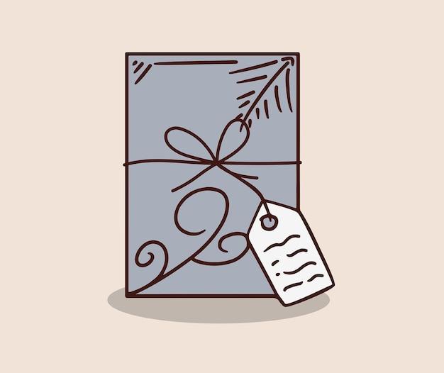 Disegno della carta regalo