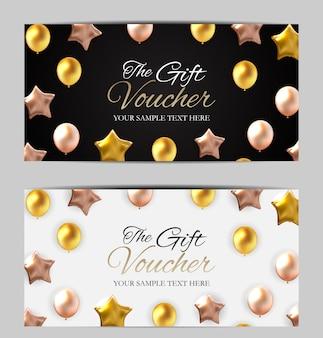 Modello di carta regalo