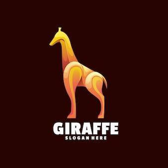 Giraffa logo colorato