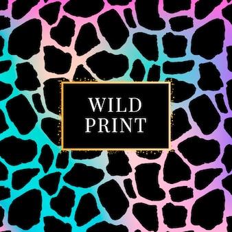 Modello dalmata giraffa, stampa animalier