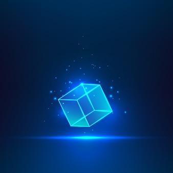 Cubo di vetro