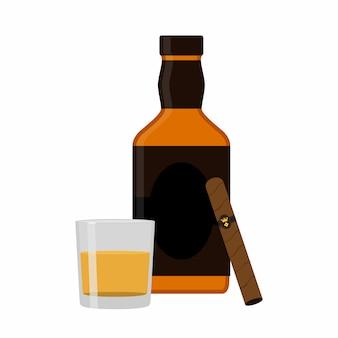 Bicchiere di rum