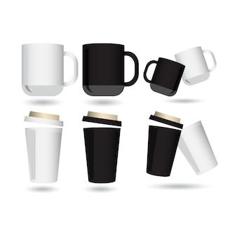 Set di vetro modello di progettazione