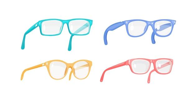 Illustrazione di occhiali.