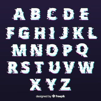 Tipografia glitch