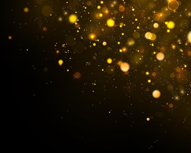 Glitter ed elegante effetto bokeh.