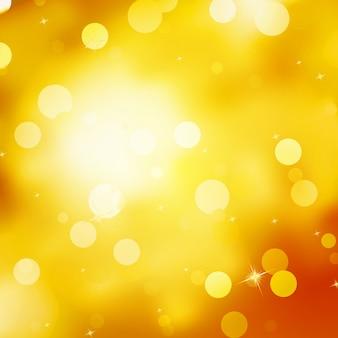 Sfondo di natale oro glitterato.