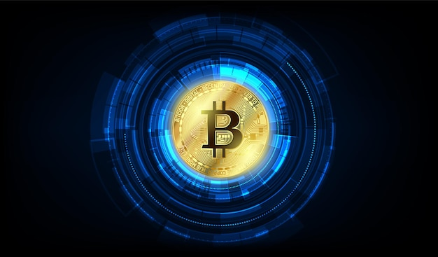 Global abstract bitcoin crypto currency blockchain technology world map