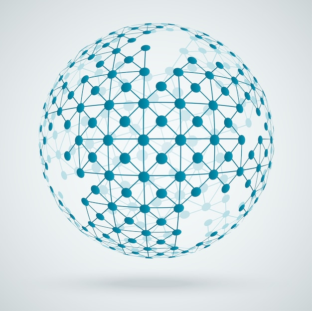 Rete globale di connessioni digitali