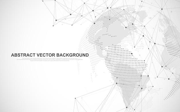 Concetto di composizione della connessione di rete globale