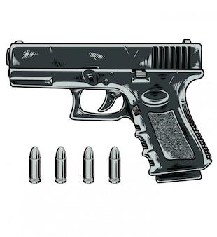 Pistola glock Vettore Premium