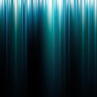 Bagliore di luce movimento astratto sfondo blu con linee
