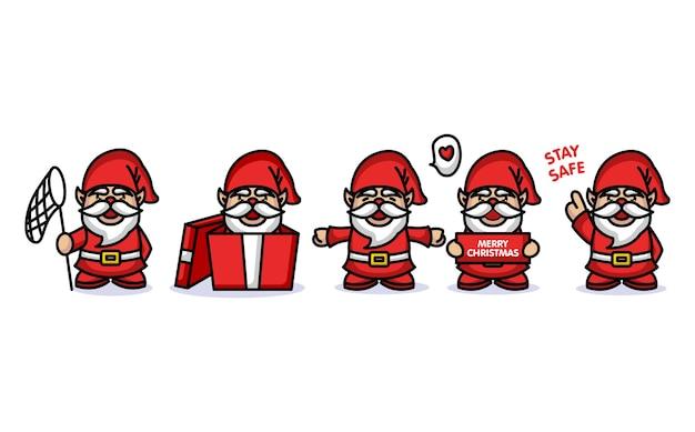 Gnomo con costume natalizio